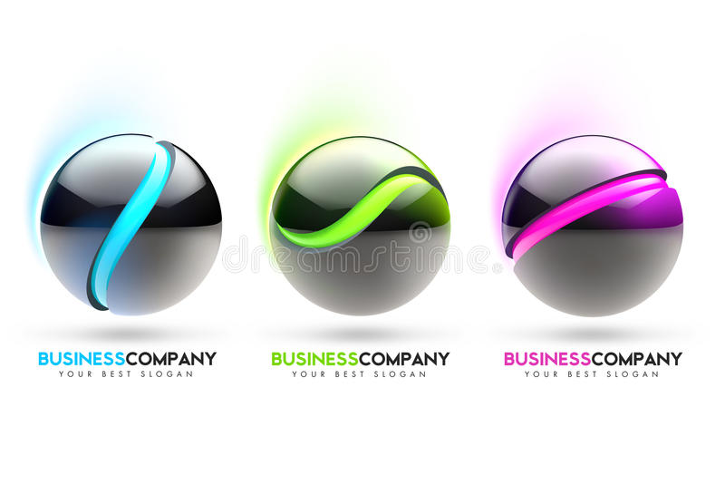 Download 3D Sphere Stock Illustration - Image: 41327705