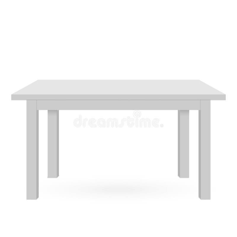 3d stołu mockup royalty ilustracja