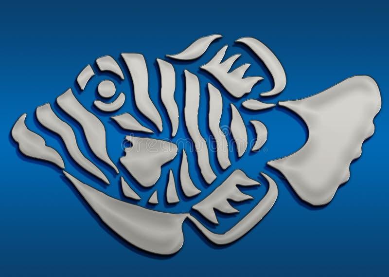 3D symbole bastiony ilustracja wektor