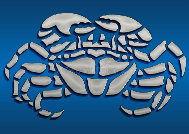 3D symbole bastiony ilustracji