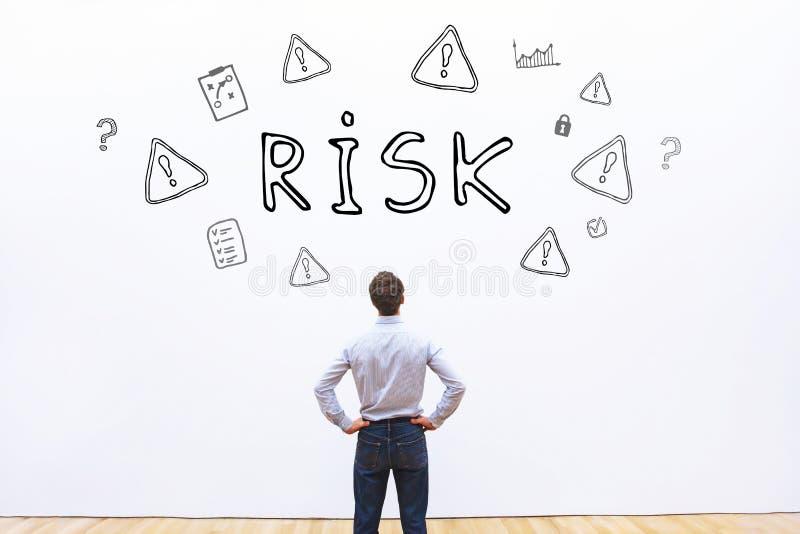 3d tła pojęcie odpłacający się ryzyka biel obraz royalty free