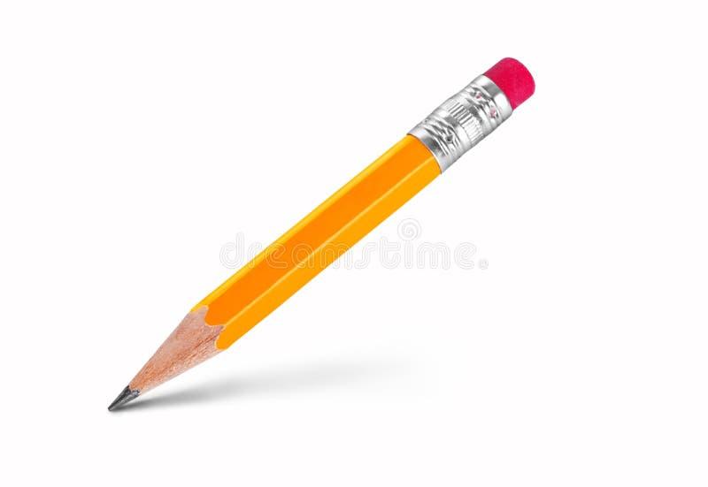3d tła wizerunku ołowianego ołówka biel fotografia stock