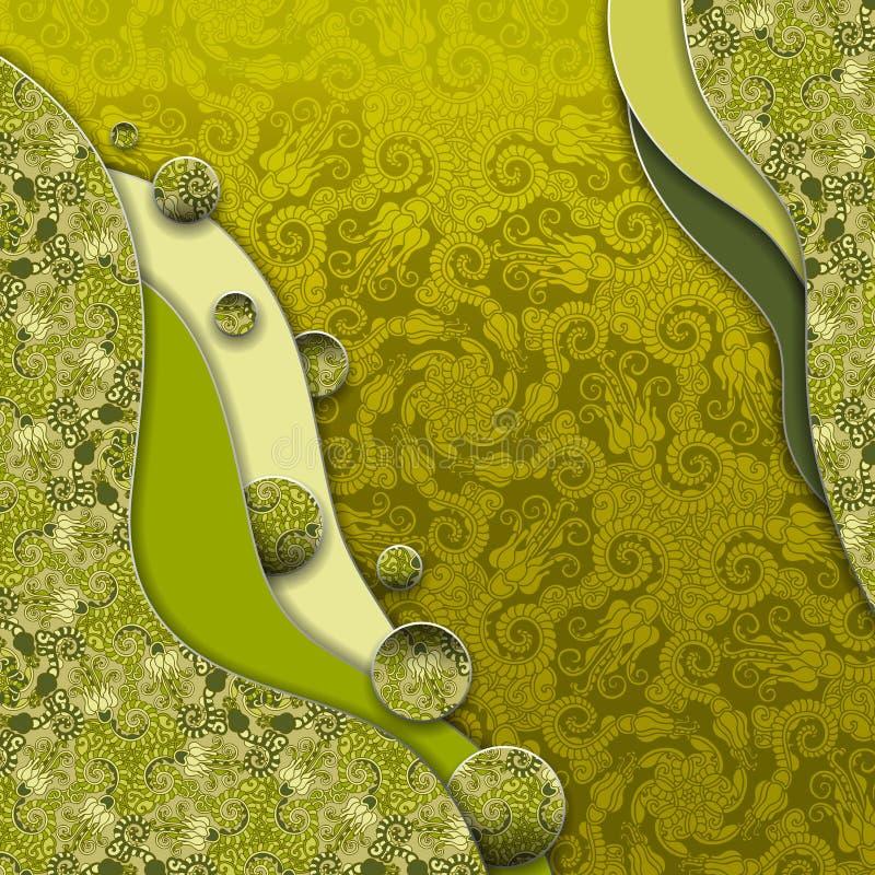 3d tło abstrakcjonistyczny wektor ilustracja wektor