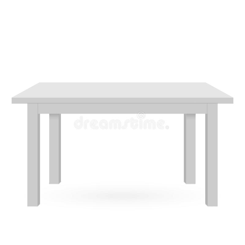 3d Table mockup royalty free illustration