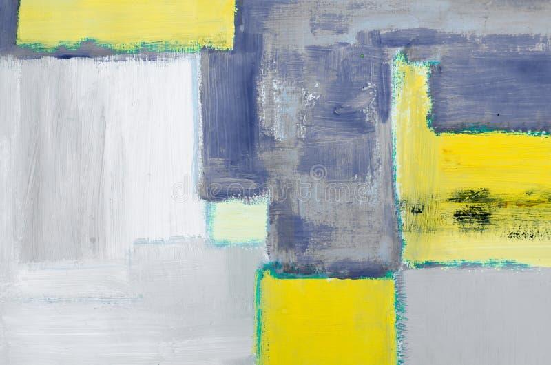 D?tail de fond peint par huile abstraite artistique photos libres de droits