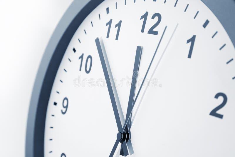 D?tail de visage d'horloge photographie stock libre de droits