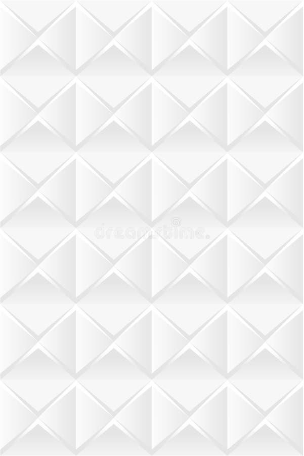 3d teste padrão sem emenda floral abstrato 02 ilustração stock
