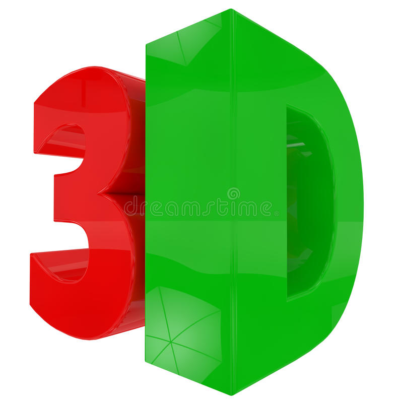 3d Text Royalty Free Stock Photo