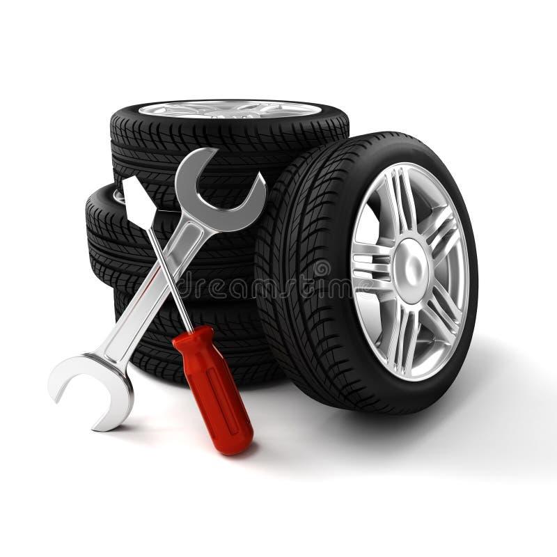 Download 3d tires stock illustration. Illustration of rubber, shiny - 38720758