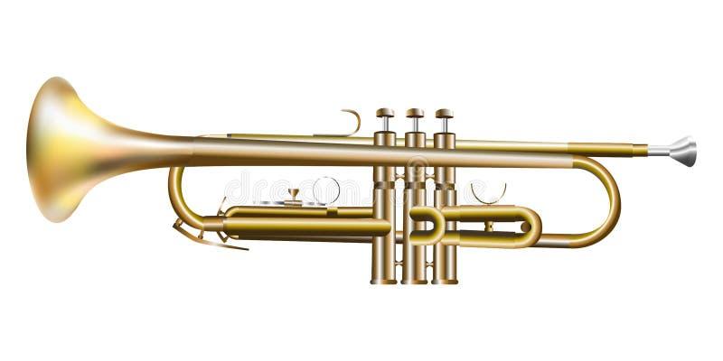 3d_trumpet stock abbildung