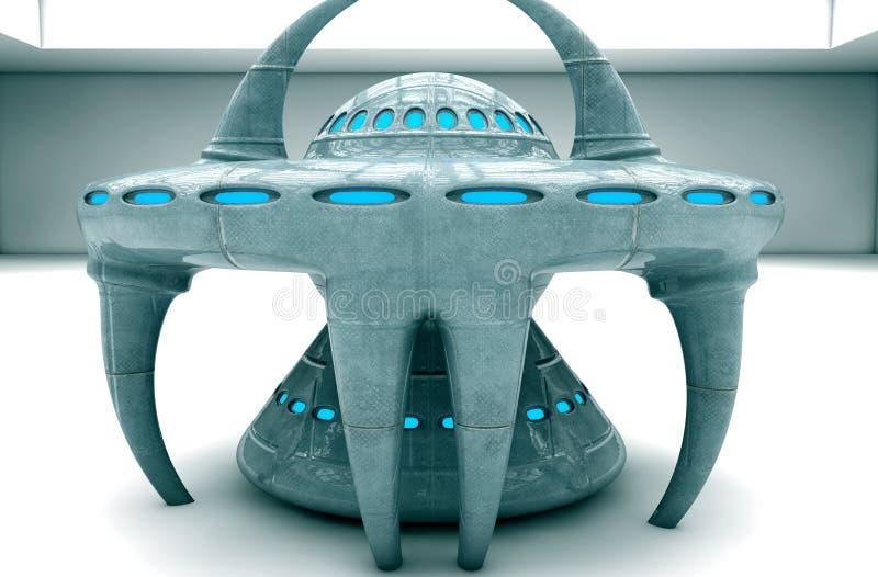 3d UFO vector illustratie
