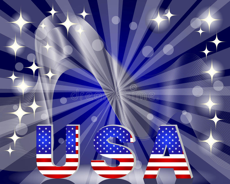 Download 3d USA For The U.S. National Holidays Stock Vector - Illustration of flag, democratic: 31654561