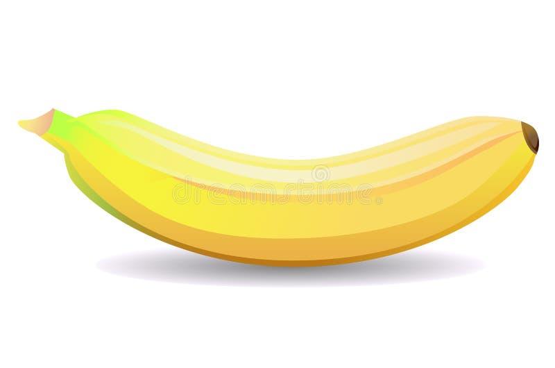 3D van banaanfruit royalty-vrije stock afbeelding
