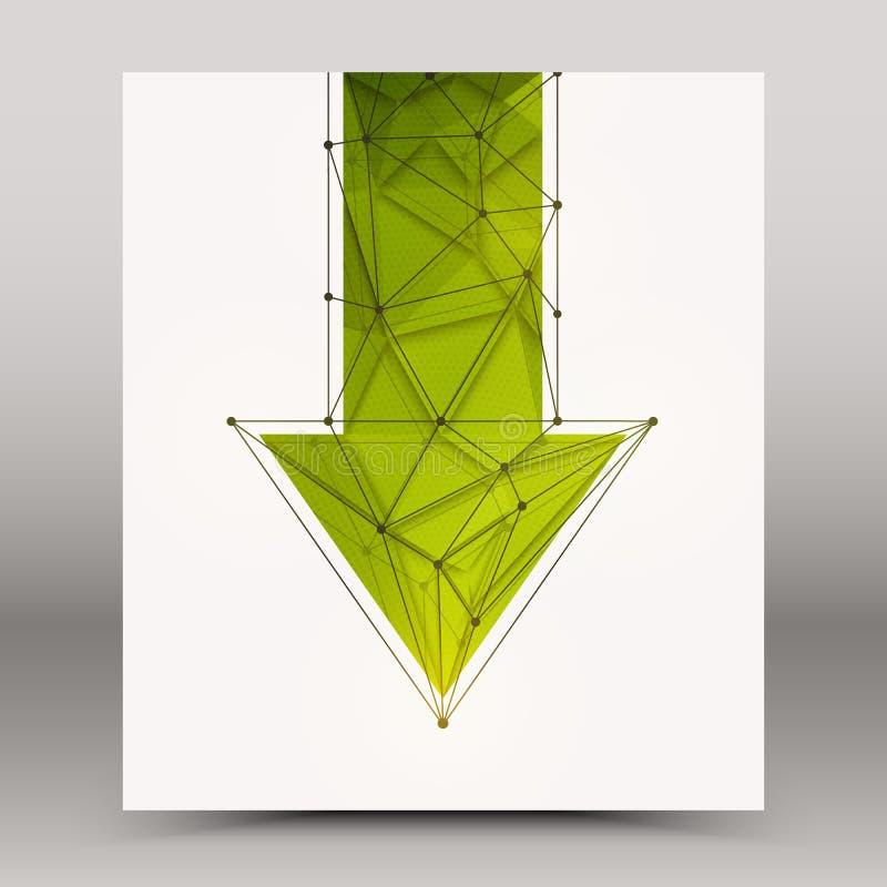 3d vectortechnologieachtergrond vector illustratie