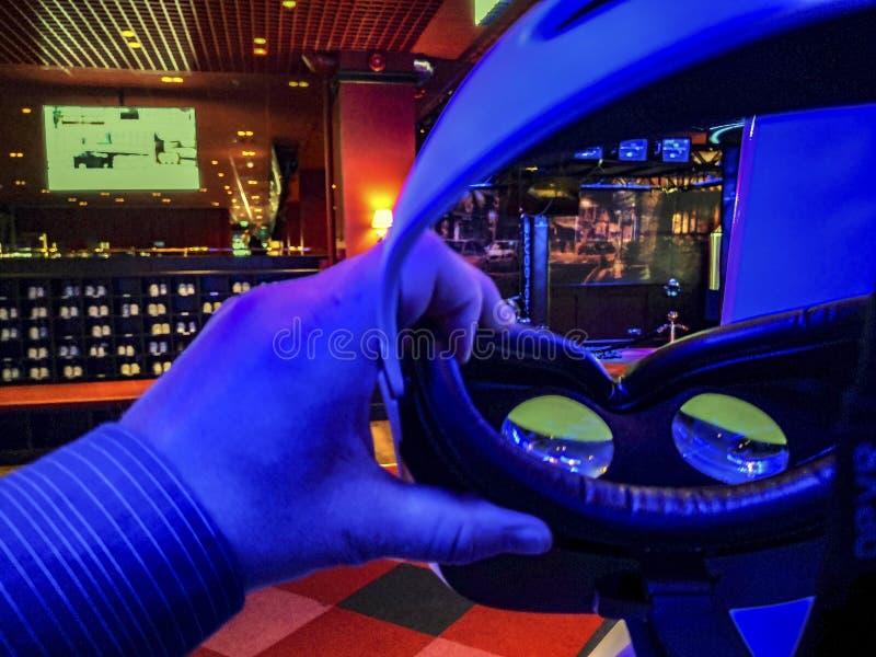 3D verres s dans le cinéma photo libre de droits