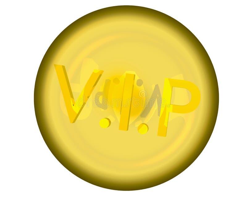 3d vip ilustração do vetor