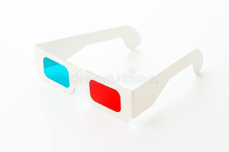 3D vision glasses royalty free stock photo