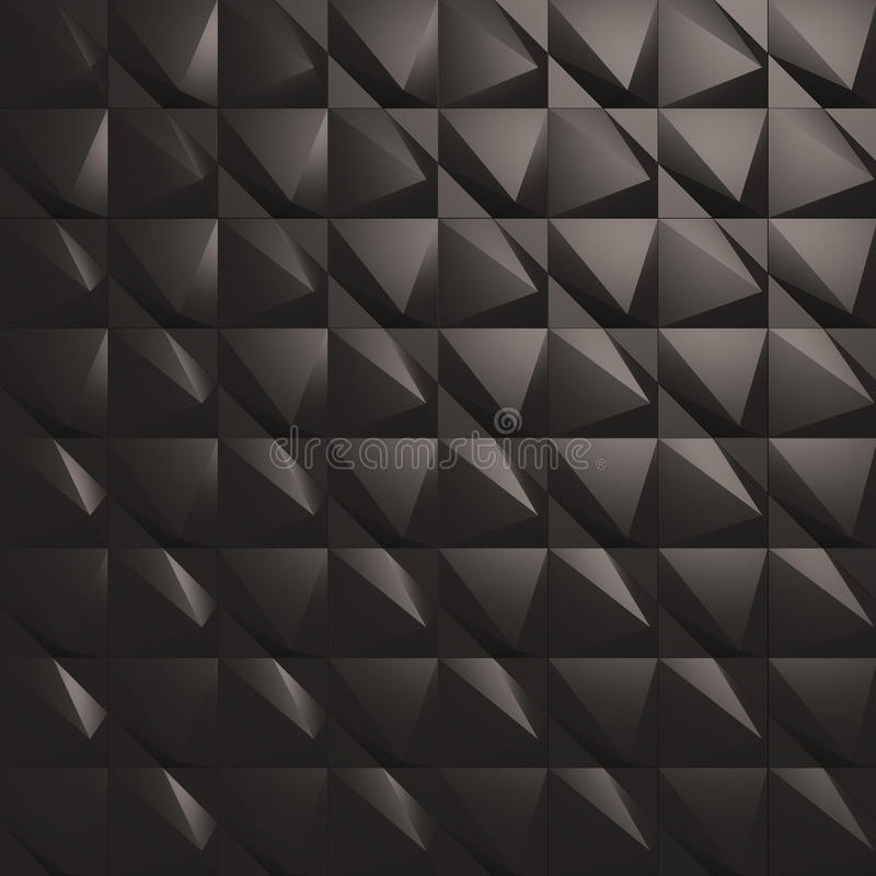3d wall tiles panel stock illustration illustration of for Black 3d tiles wallpaper