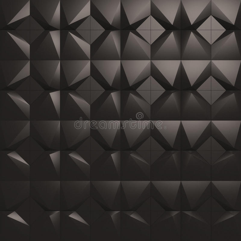 Download 3d Wall Tiles Panel Stock Illustration Of Spiky