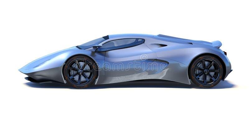 3D Wiedergabe - generisches Konzeptauto vektor abbildung