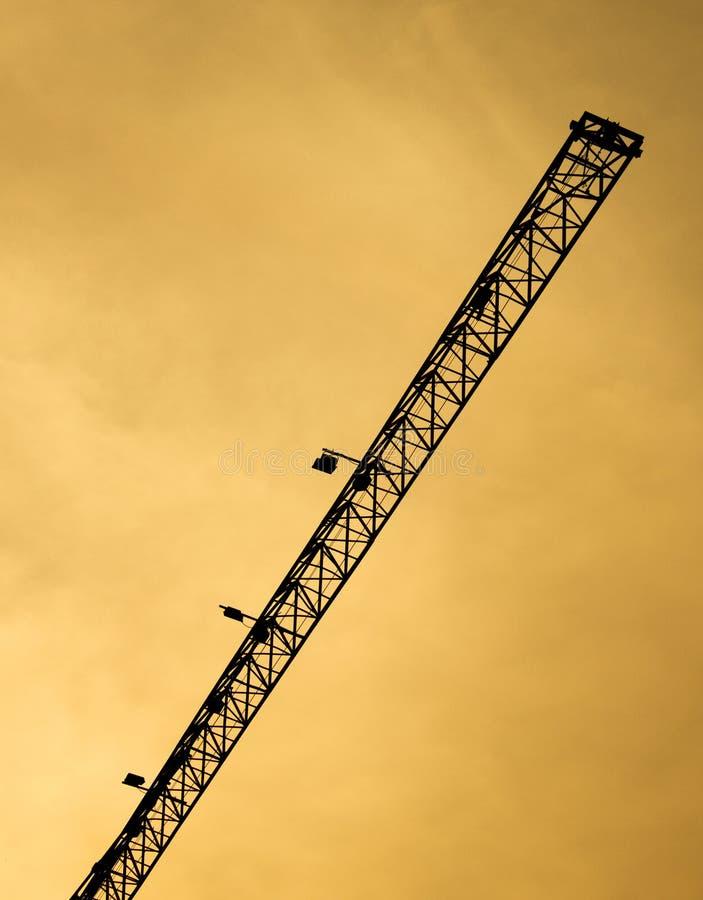 Download Dźwigowa Budowa W Sylwetka Stylu Obraz Stock - Obraz złożonej z yellow, budowa: 57662179