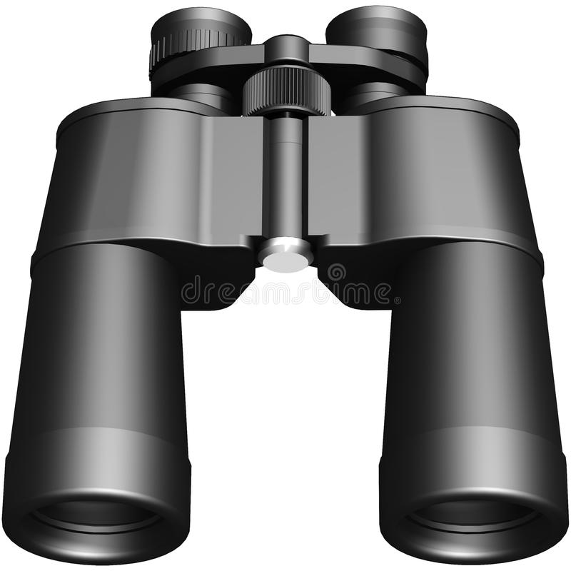 3D wizerunek lornetki ilustracji
