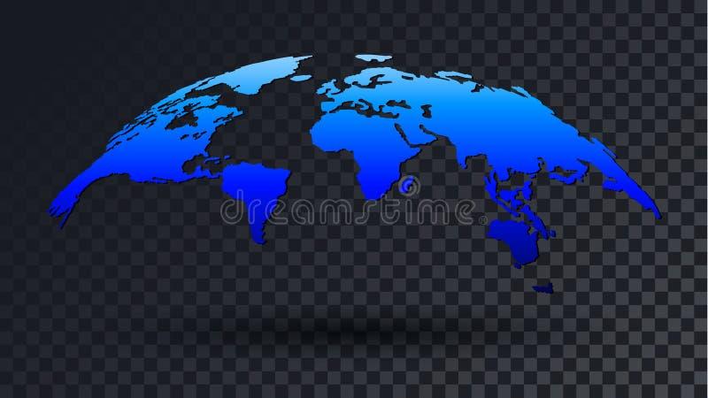 3d world map transparent background stock vector illustration of download 3d world map transparent background stock vector illustration of icon shadow 92722916 gumiabroncs Images