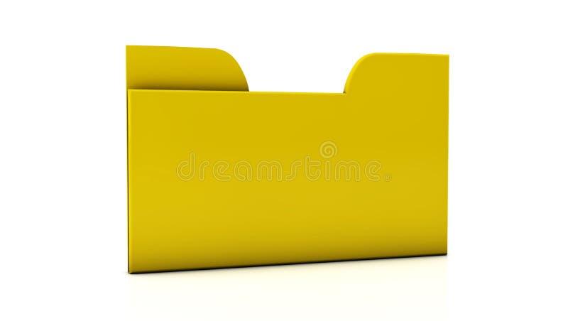 3d File folder stock illustration  Illustration of documents - 29778321