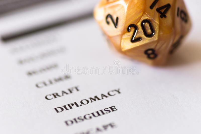 Download D20 Dice For Roleplaying Game Stock Photo - Image: 26429184
