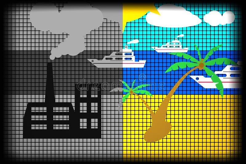 Daño ilustración del vector