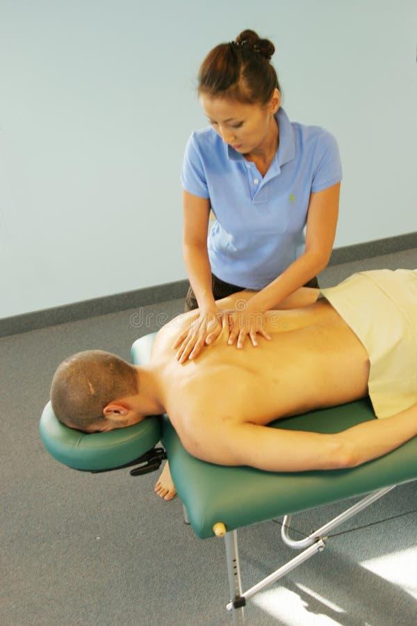 dać masażystka fotografia royalty free