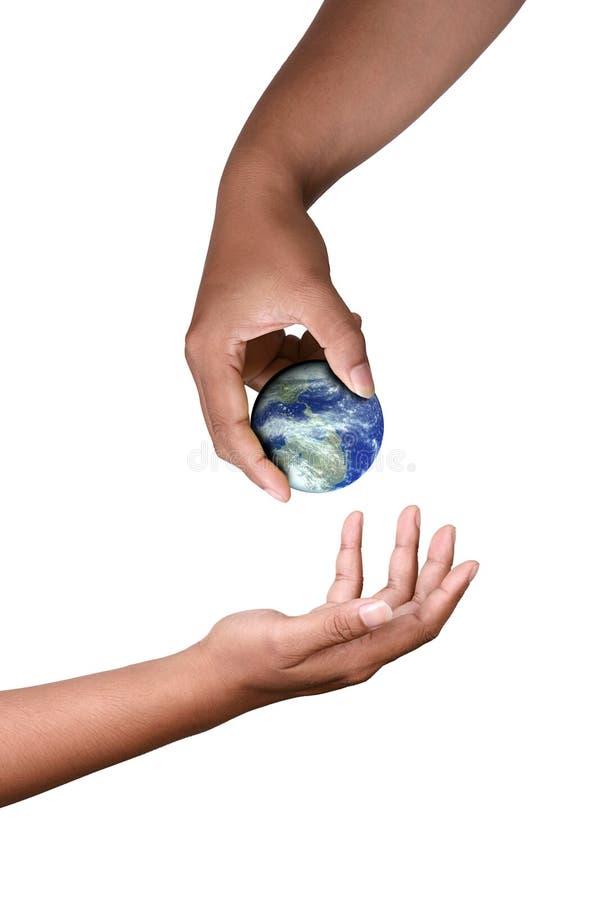 dać wszechświatowi zdjęcia stock