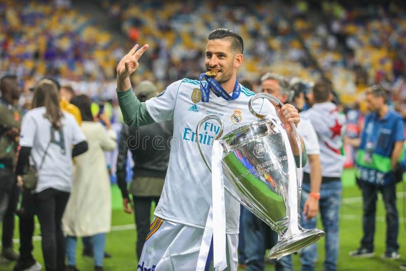 Dań Ceballos Real Madrid zdjęcia royalty free
