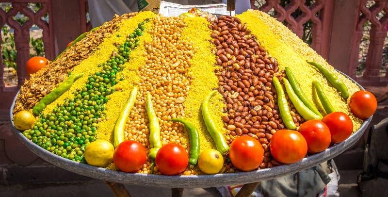Da Índia de rua do mercado vida ainda foto de stock royalty free