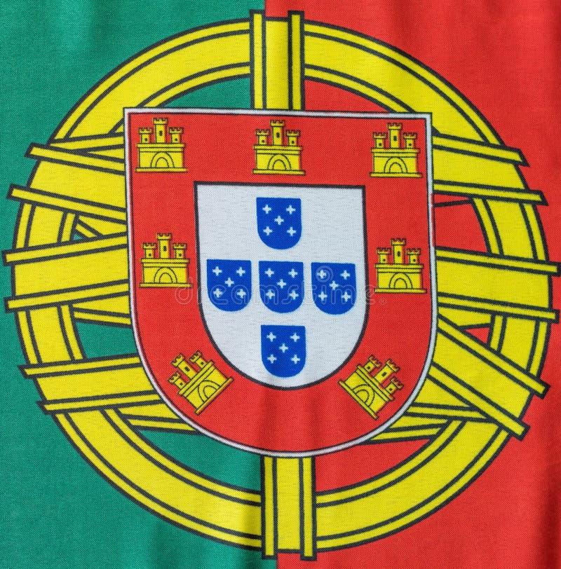 Da bandeira imagem portuguesa ainda de cima da vista fotografia de stock royalty free