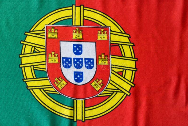 Da bandeira imagem portuguesa ainda de cima da vista fotografia de stock
