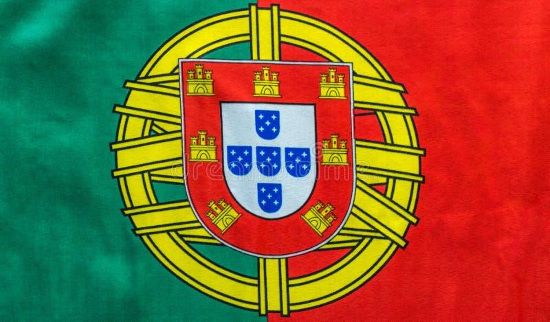 Da bandeira imagem portuguesa ainda de cima da vista foto de stock royalty free