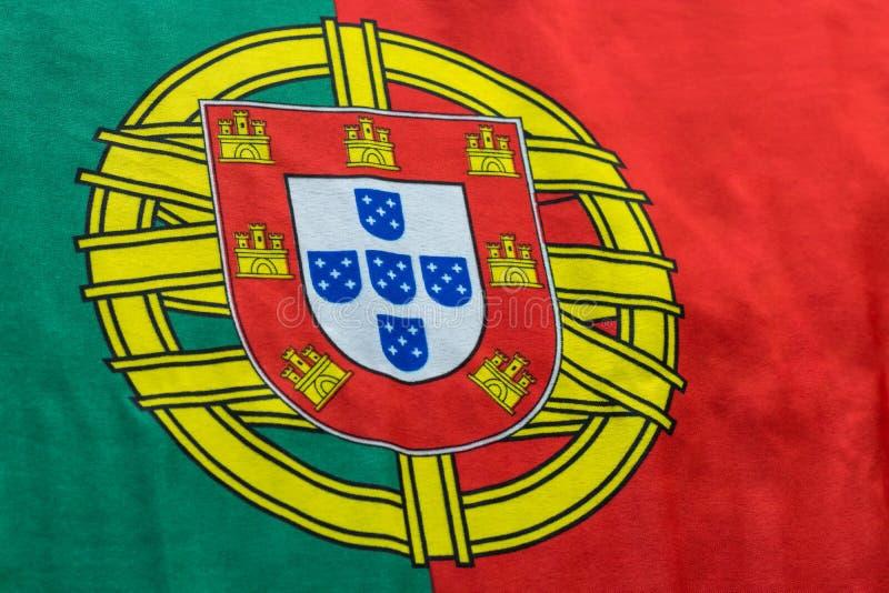 Da bandeira imagem portuguesa ainda de uma vista lateral fotos de stock