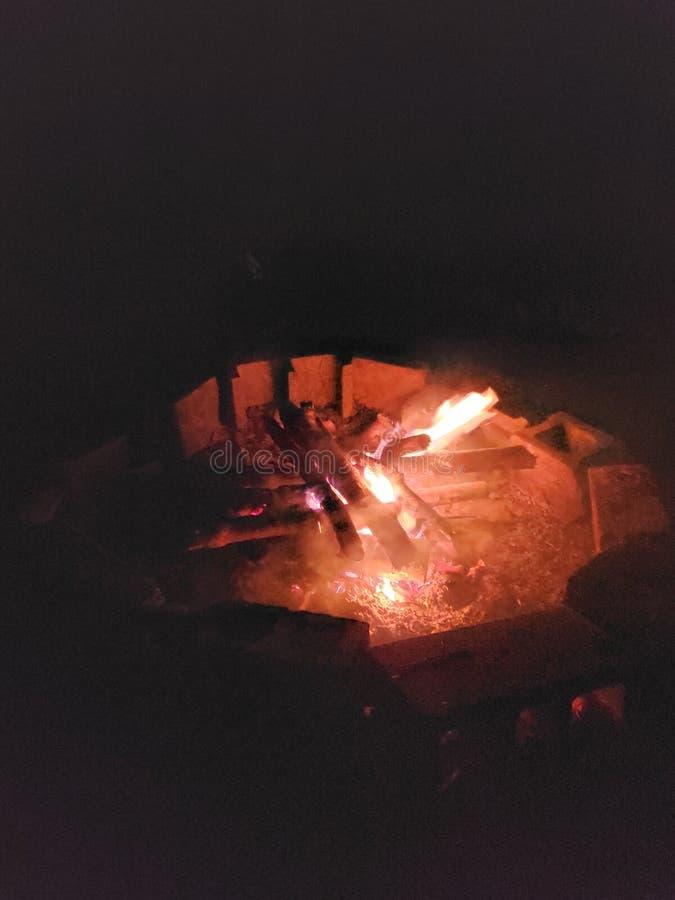 Da Campfire fotografia stock