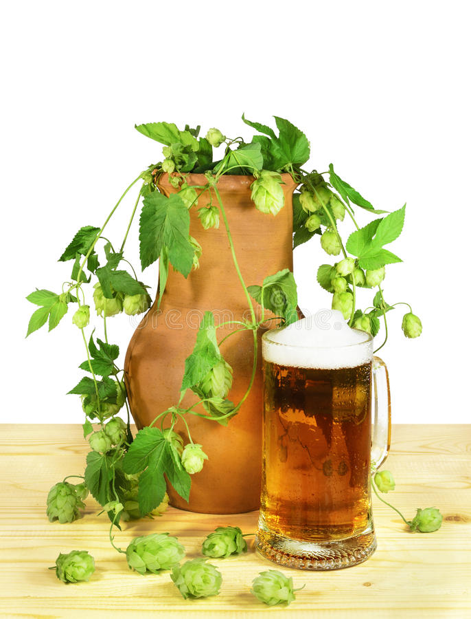 Da cerveja vida ainda imagem de stock