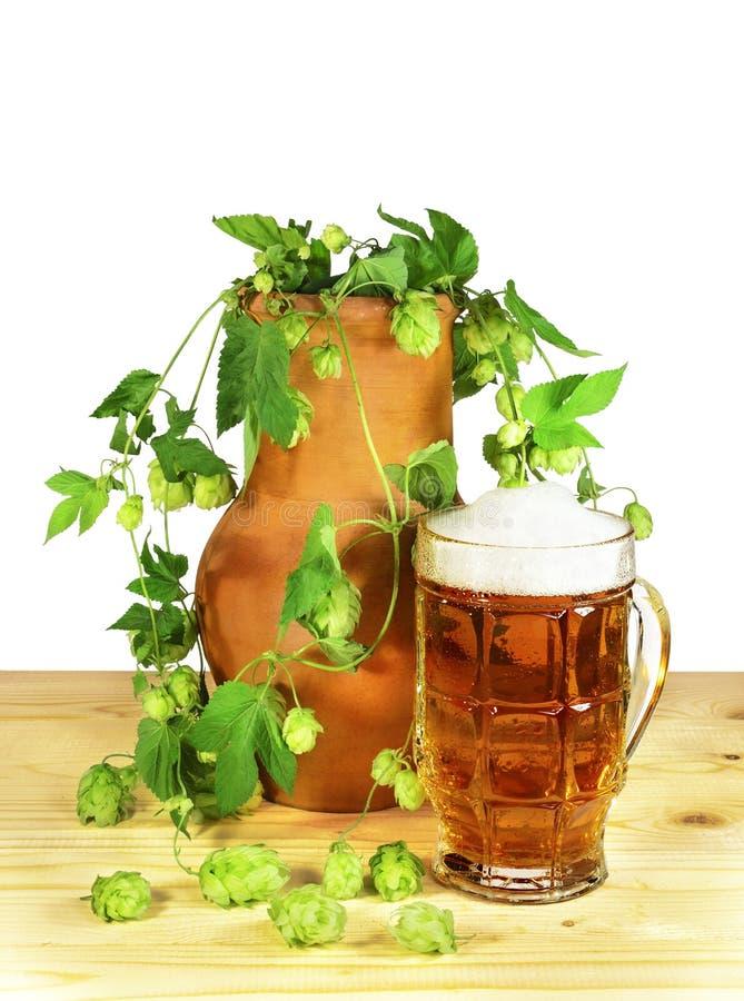 Da cerveja vida ainda imagens de stock