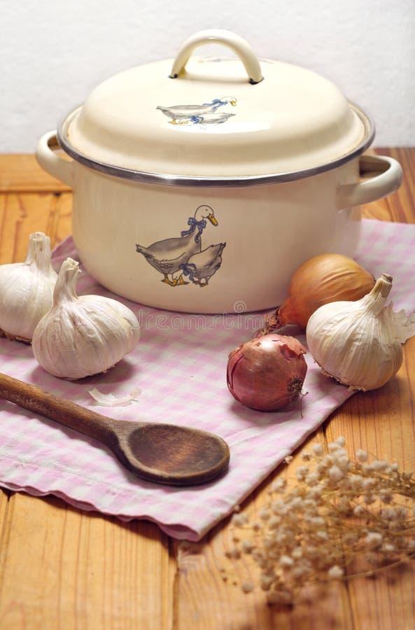 Da cozinha vida ainda imagens de stock