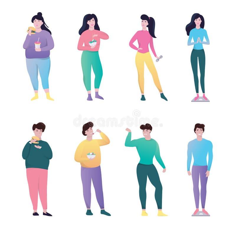 trasformazioni perdita di peso uomini e donne