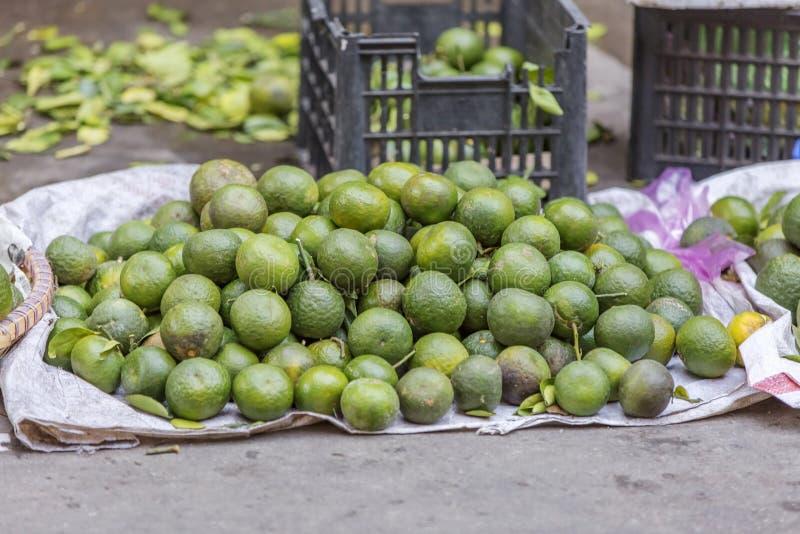 Da Lat market, Da Lat city, Lam province, Vietnam. Orange in fruit stall in Da Lat market, Da Lat city, Lam province, Vietnam. Da Lat is called the city of royalty free stock image