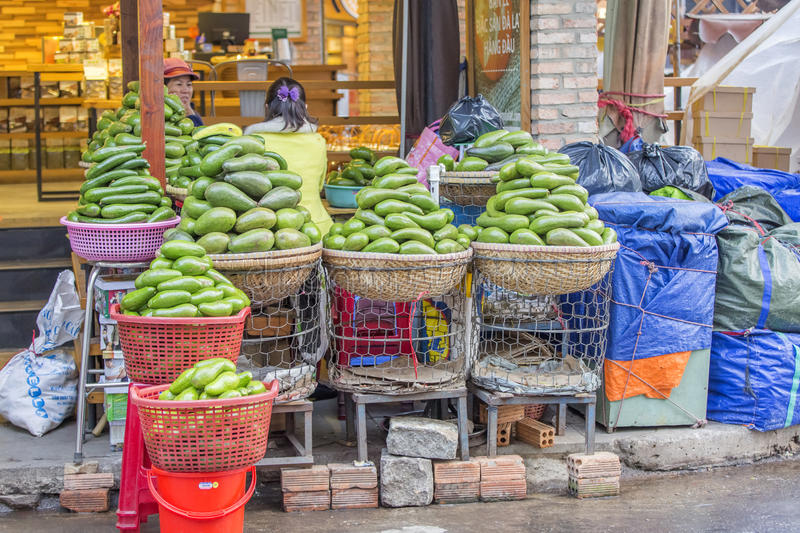 Da Lat Market, Vietnam royalty free stock photos