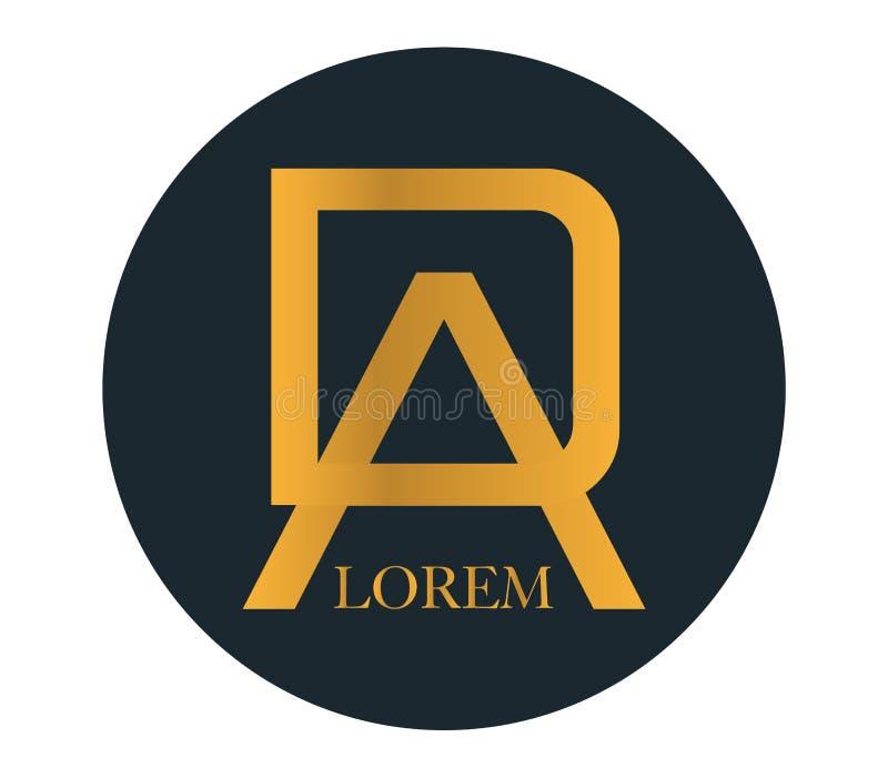 Download DA Logo Concept Design stock vector. Illustration of business - 83705170