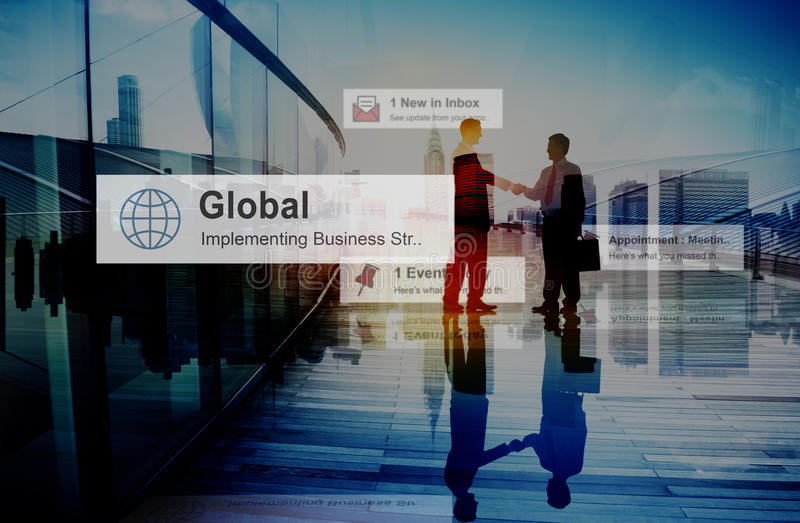 Da mão da agitação da parceria dos trabalhos de equipa executivos do conceito do negócio imagens de stock