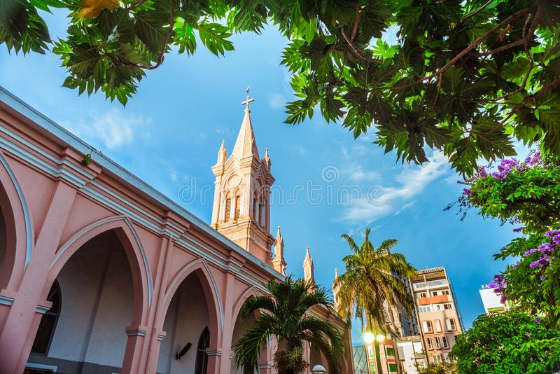Da Nang Cathedral royalty free stock photos