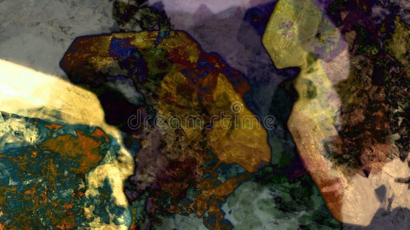 Da paisagem mineral geológico da natureza do sumário ilustração bonita do fundo fotografia de stock royalty free