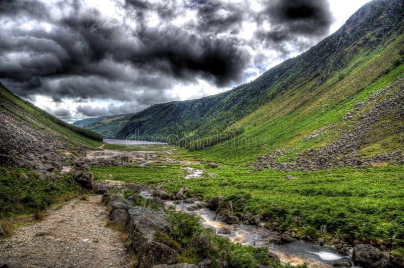 Da parte inferior de Glendalough foto de stock royalty free